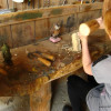 Sculputring in wood